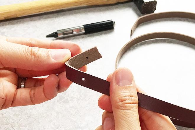 レザークラフトネックストラップの作り方